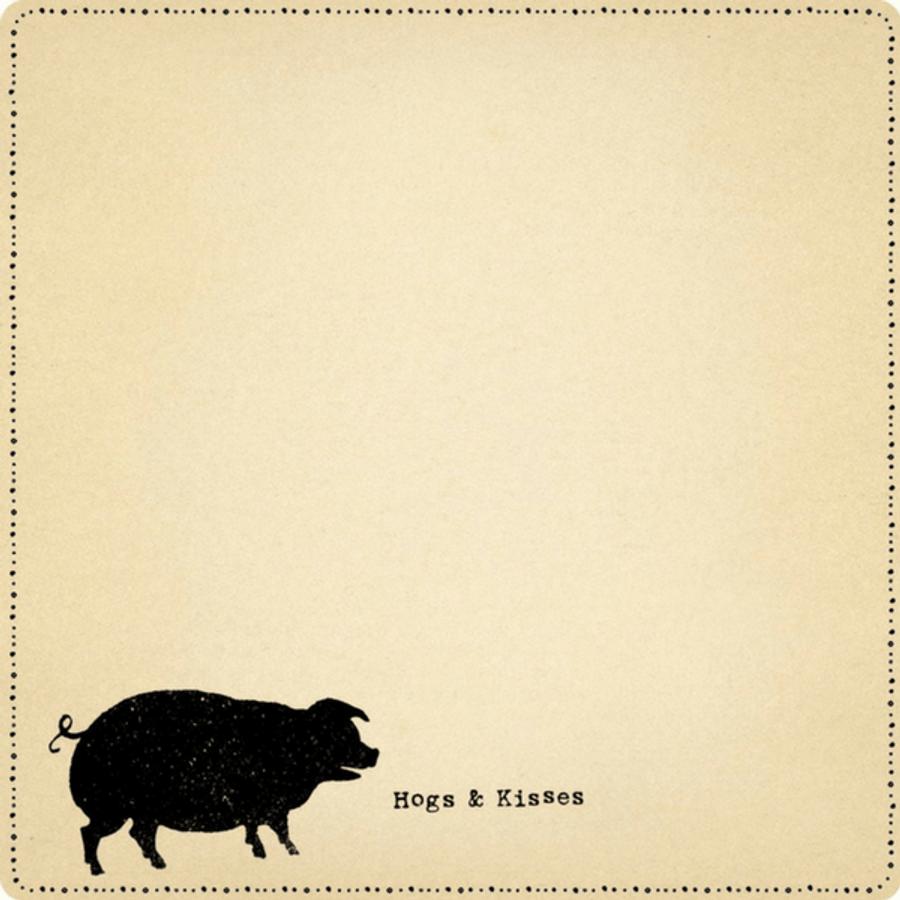 mini hogs & kisses