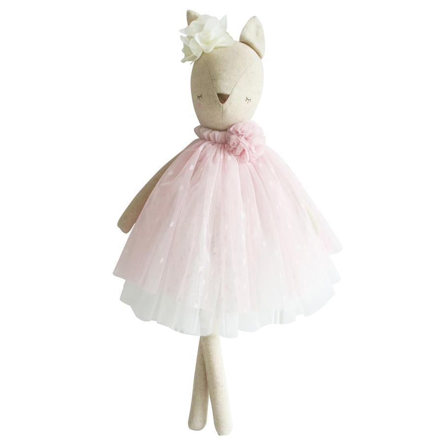 delores deer pink doll