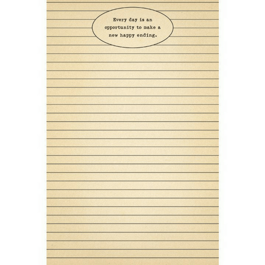 everyday is a new opportunity notepad