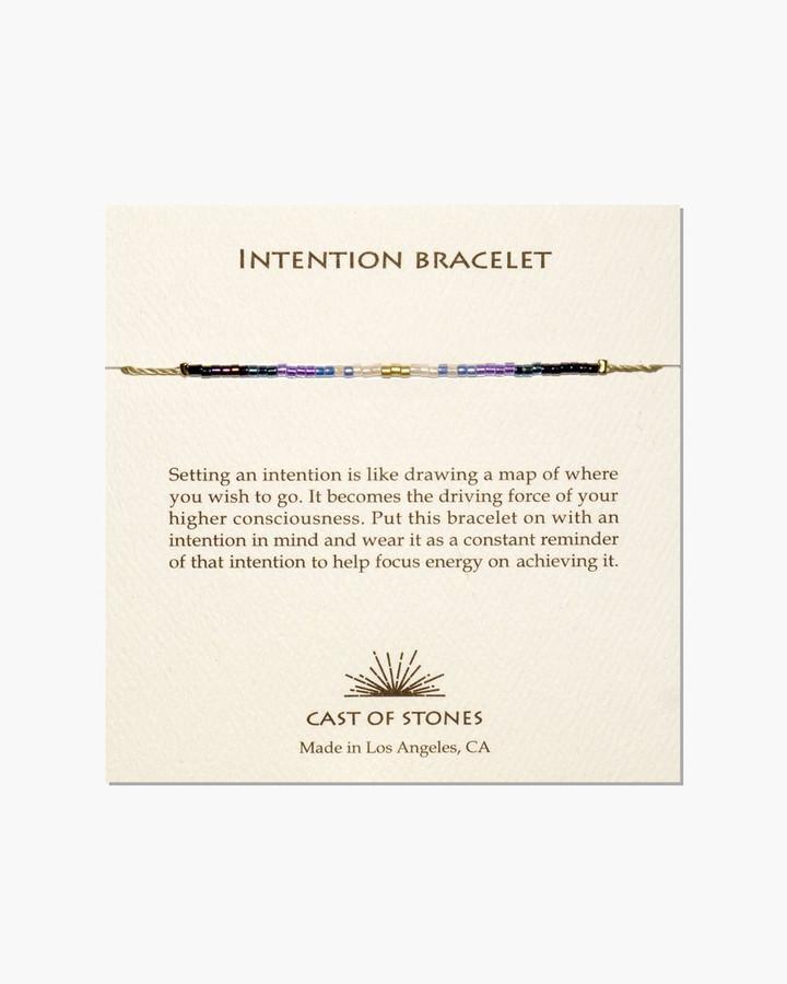 intention bracelet - cool ombre