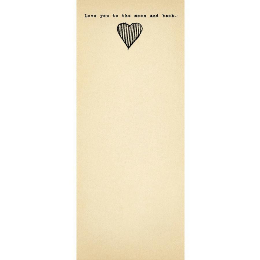 Heart to the Moon Skinny Pad