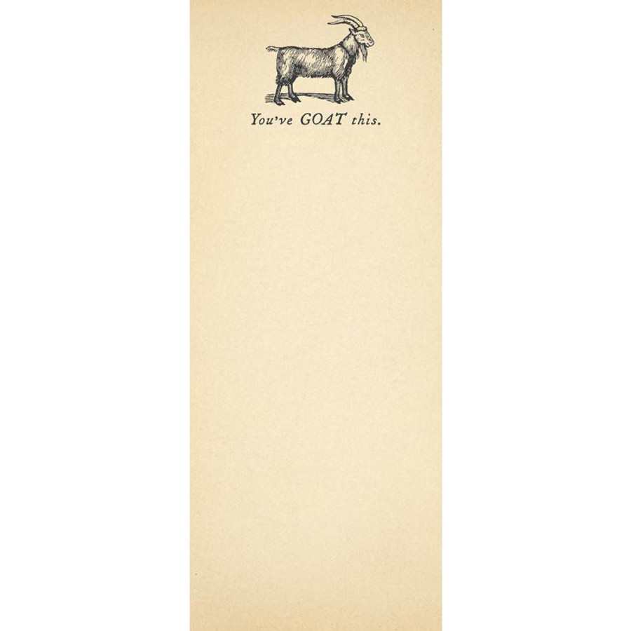 You've Goat This Skinny Pad