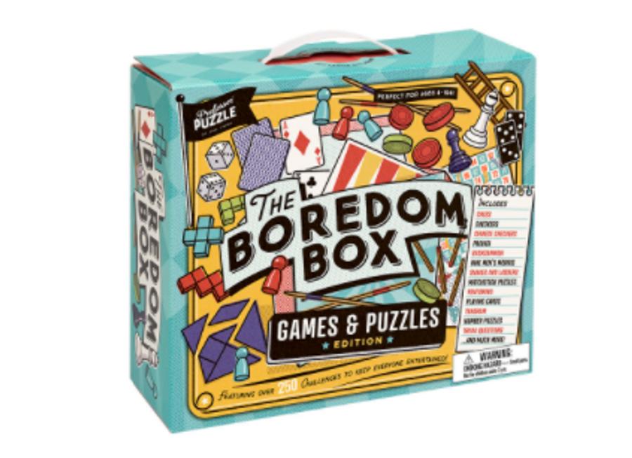 professor puzzle - the boredom box
