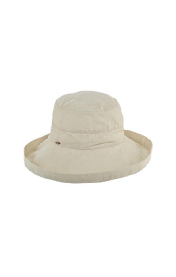 "giana 3"" brim bucket hat in natural"
