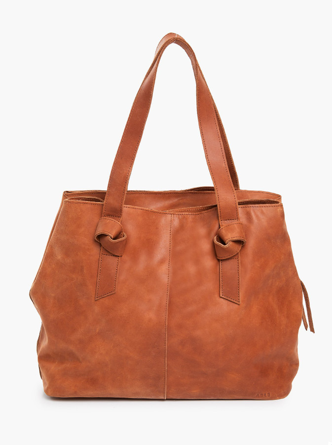 rachel utility bag in whiskey