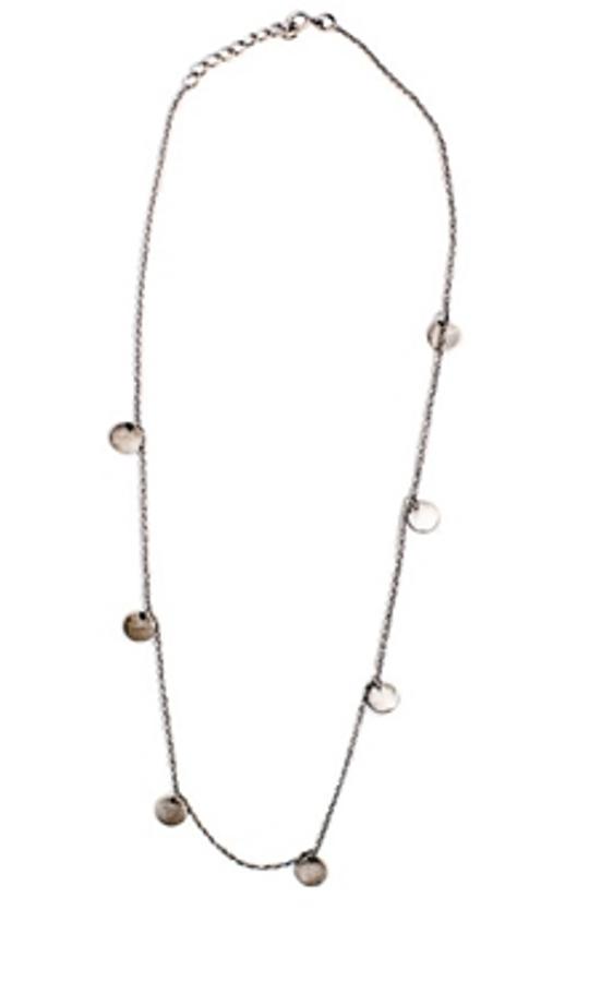 "coin necklace - 32"""