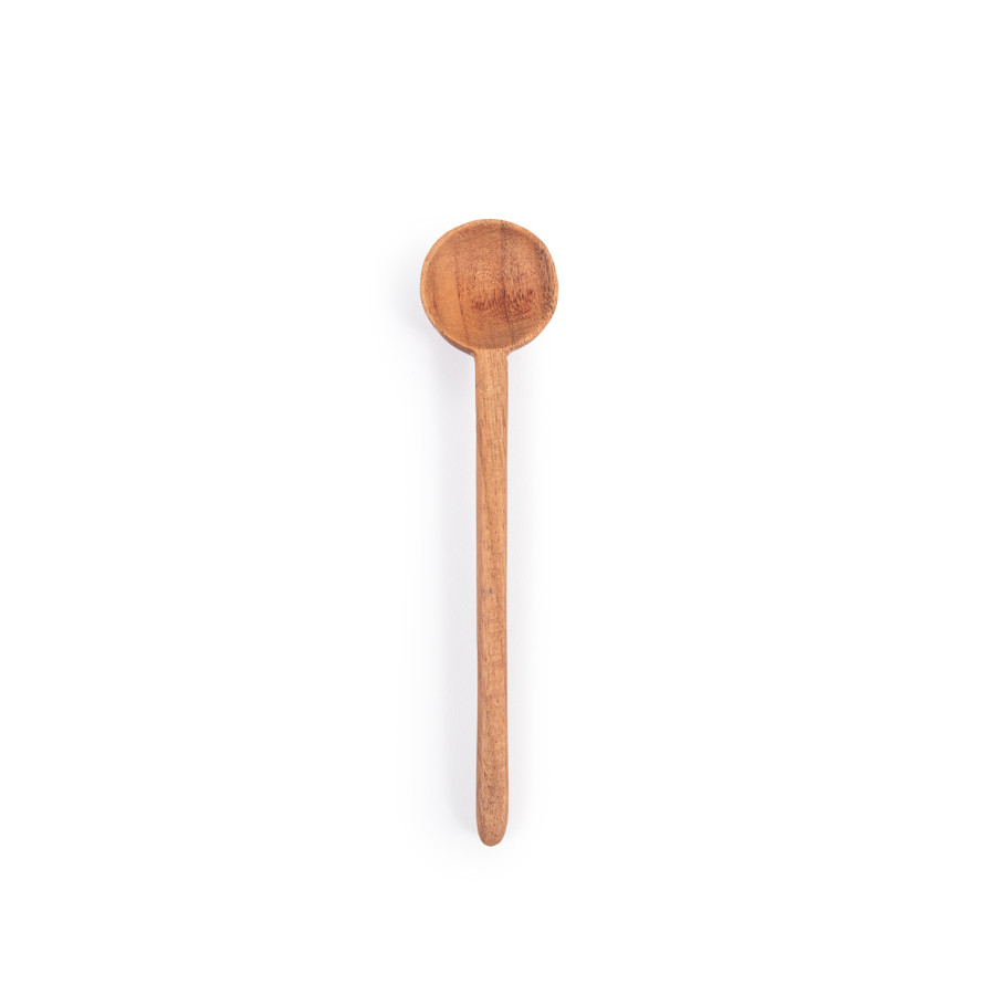 acacia wood mini spoon