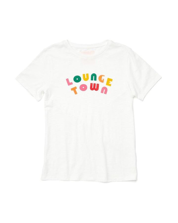 lounge town slub jersey t-shirt