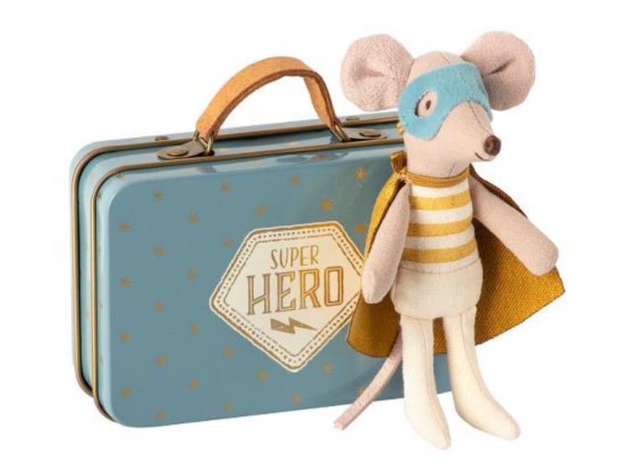 superhero mouse suitcase