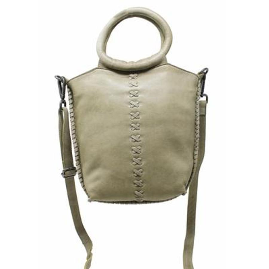 nuria leather handbag