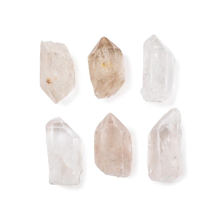 flat rock quartz point