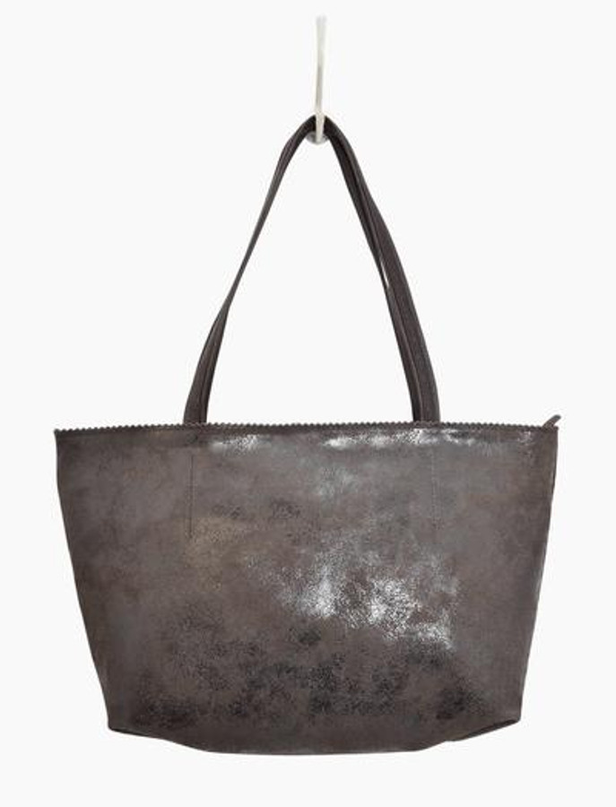 abigail leather handbag in brown
