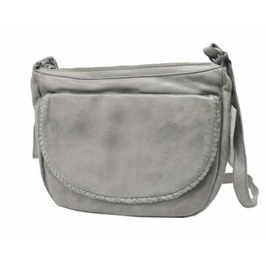 becca crossbody in grey