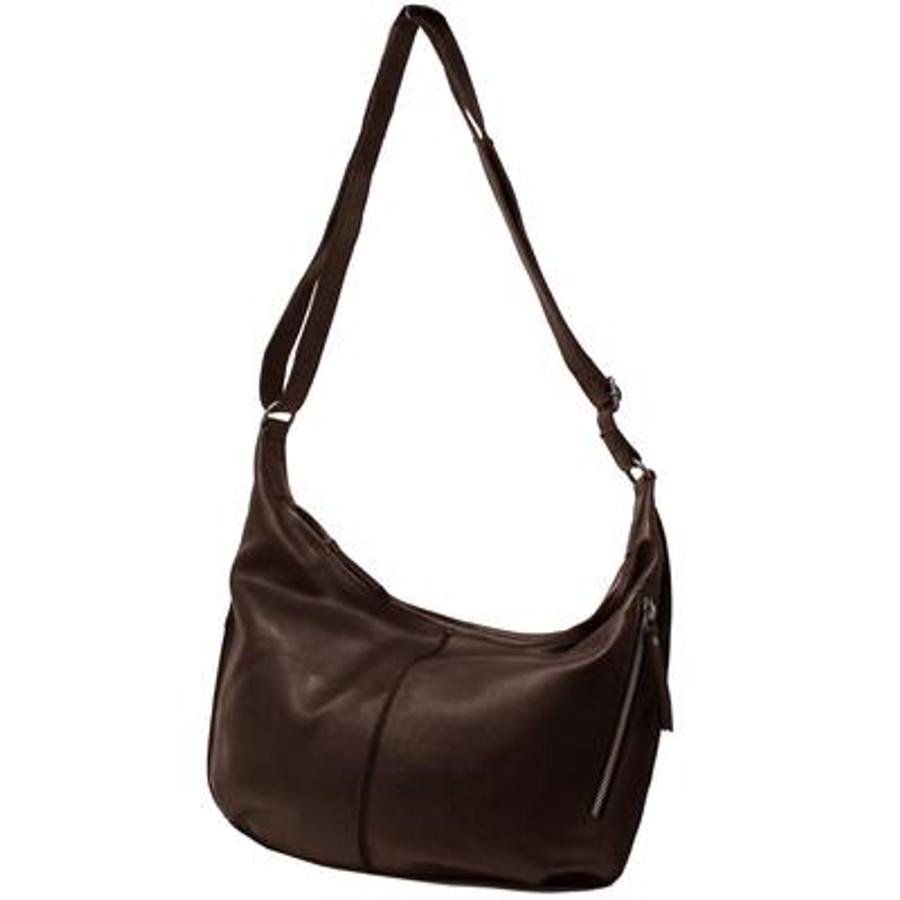 jackson leather handbag in brown
