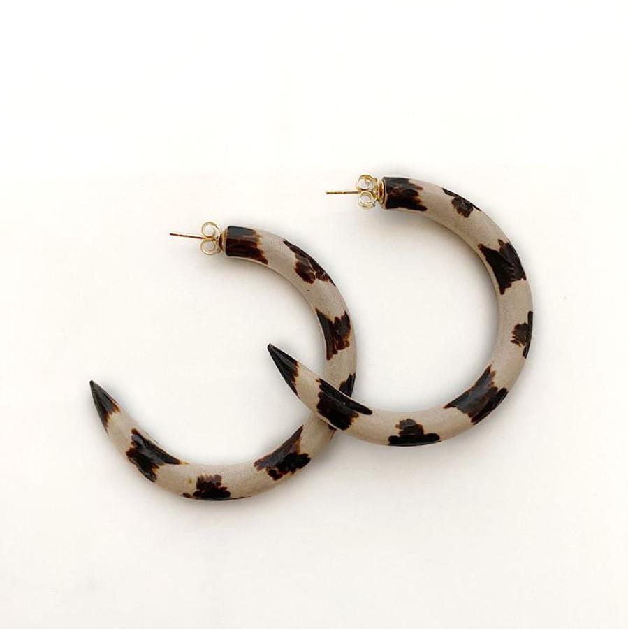 Binky & Lulu Hoop Earrings - asst colors