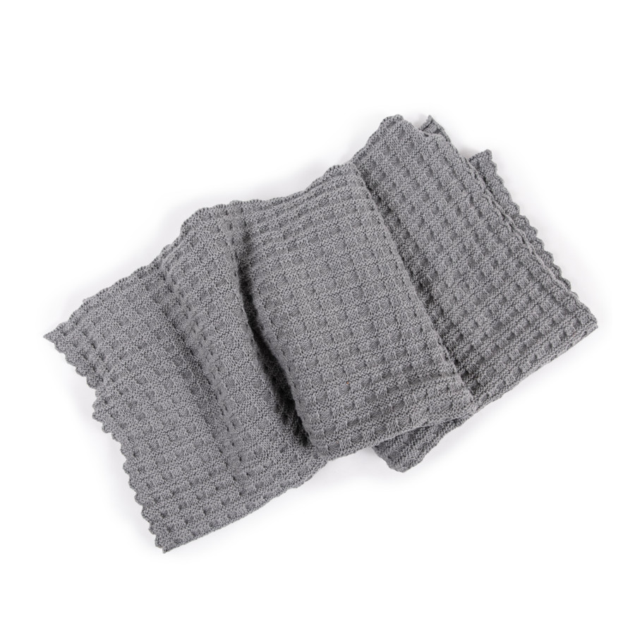 Woven Baby Blanket - Pale Grey