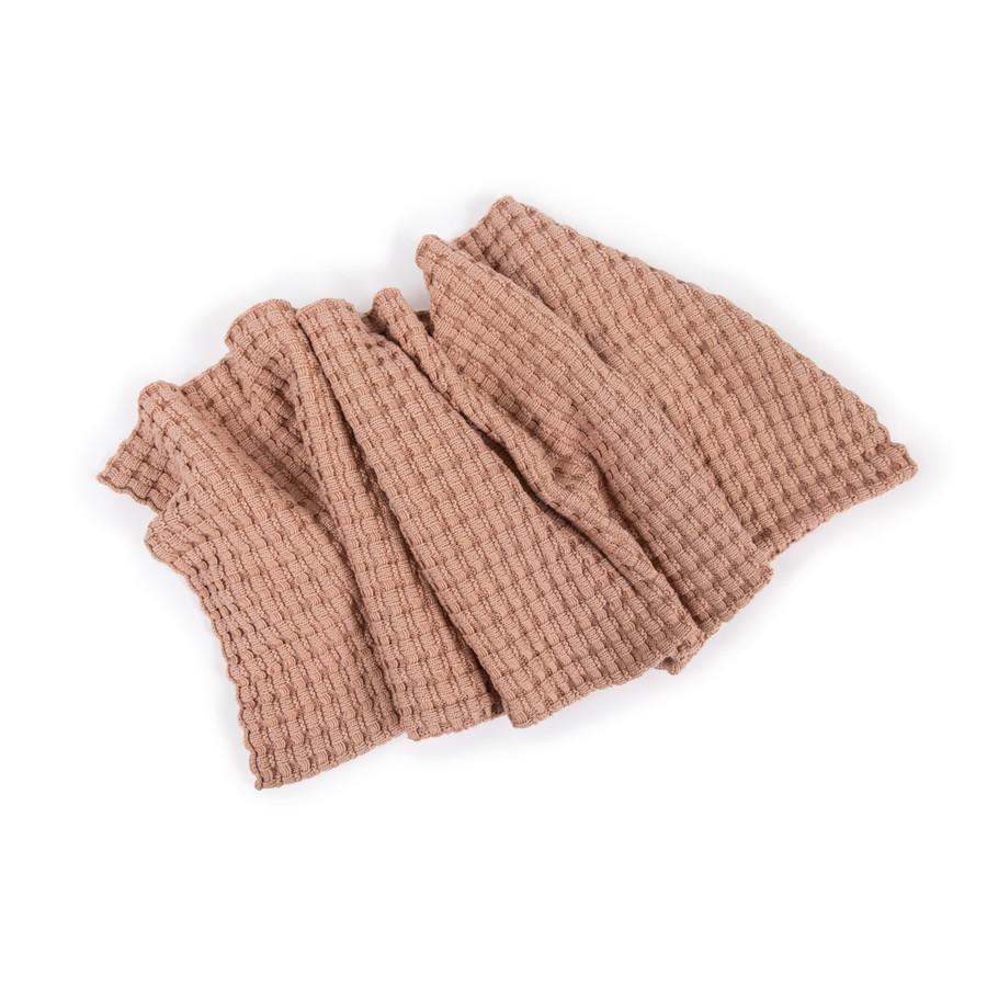 Woven Baby Blanket - Blush