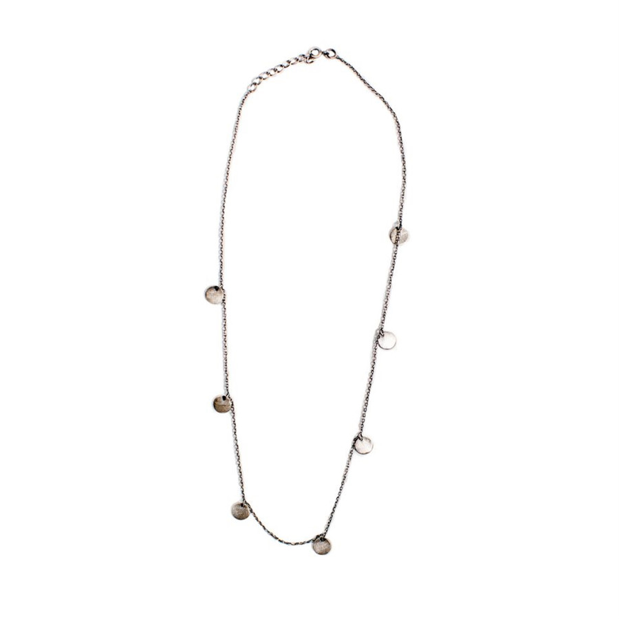 "Coin Necklace #2 - 18"""