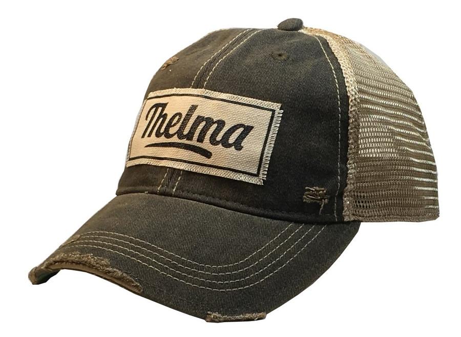 Thelma Distressed trucker cap