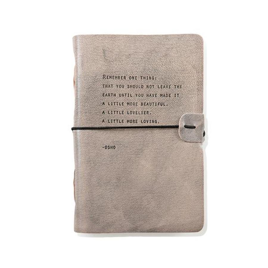 artisan leather journal - osho