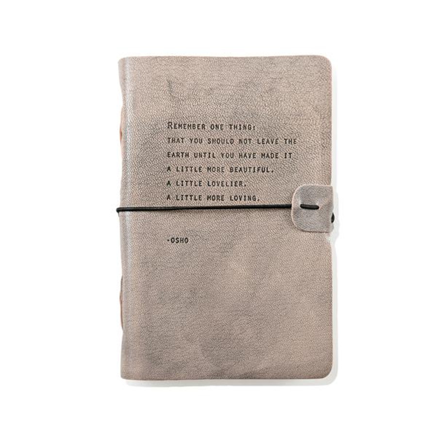 artisan leather journal - osho