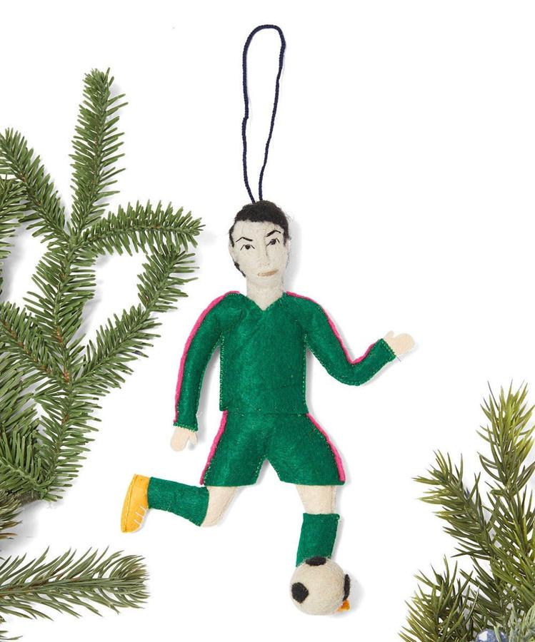 Ronaldo Felt Ornament