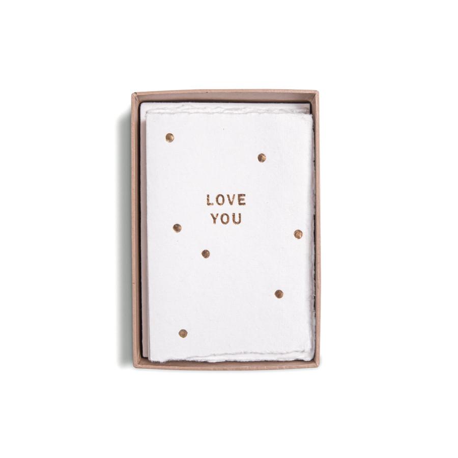 Deckled Gold Foil Cards & Envelopes Box Set