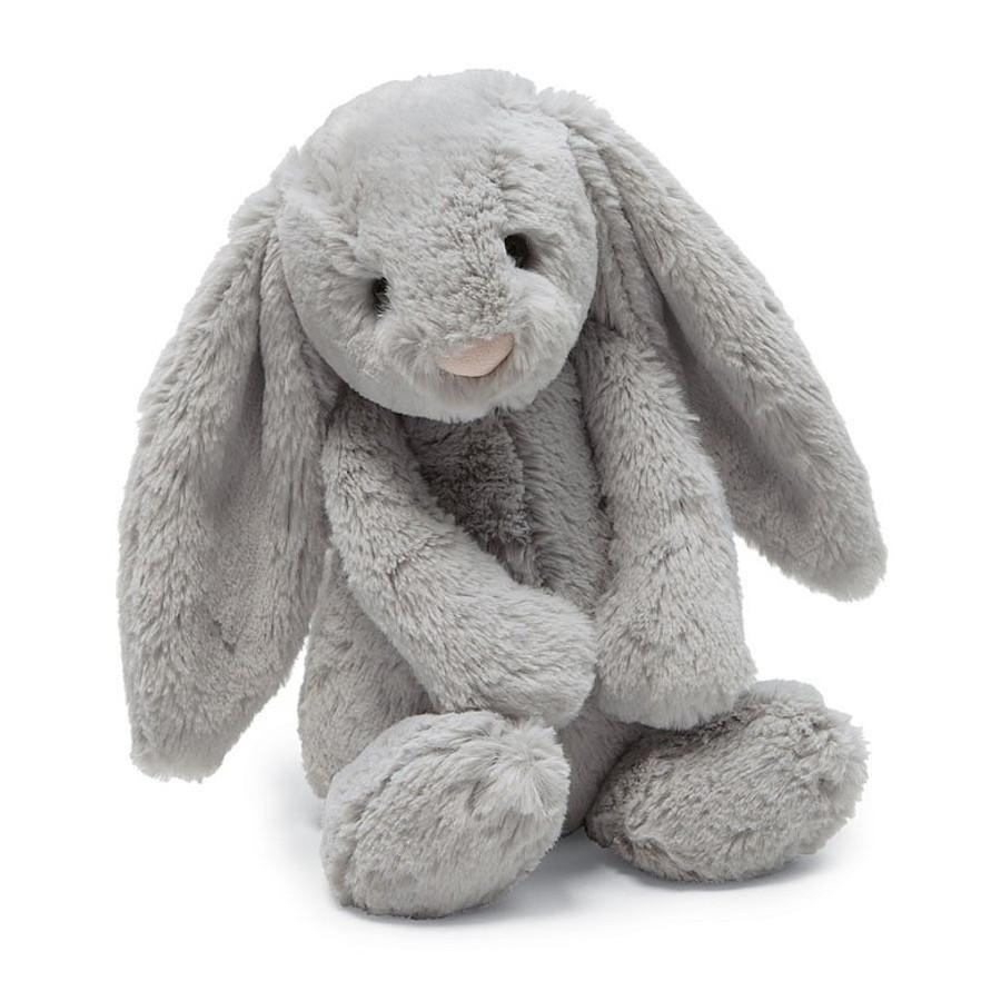 Bashful Grey Bunny