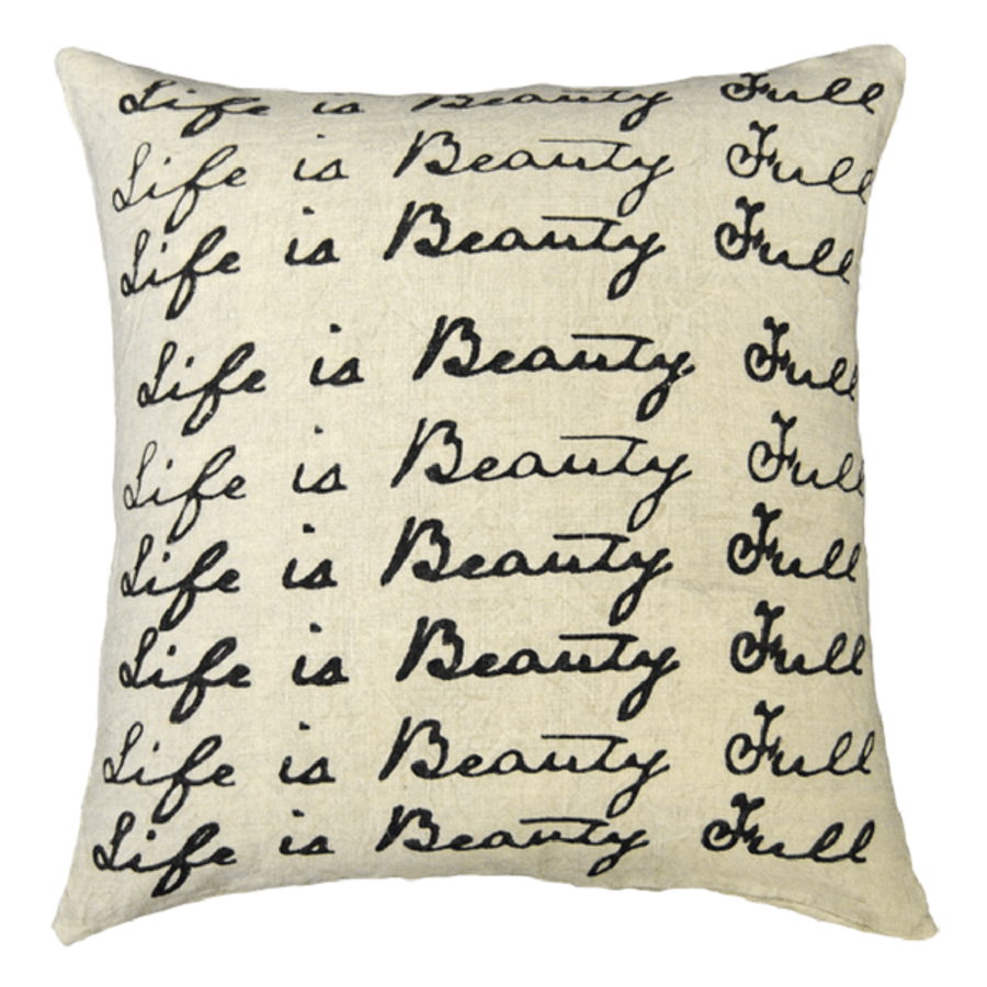 life is beauty full pillow
