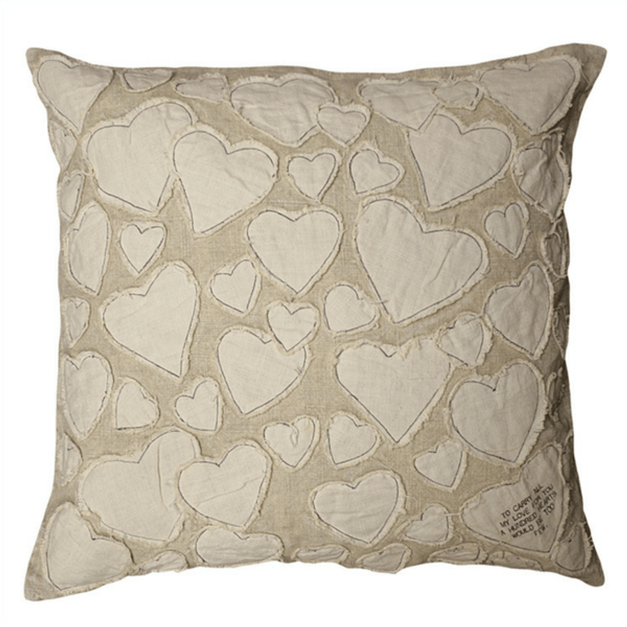 to carry all my love pillow