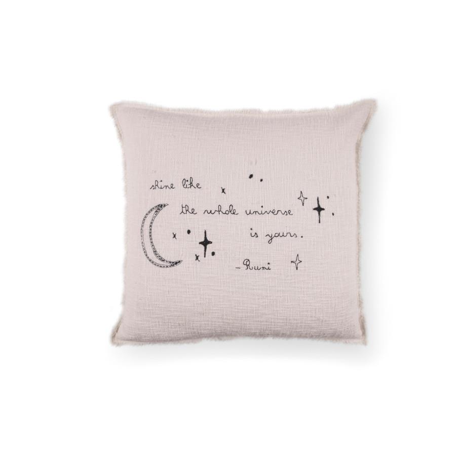 Shine - Rumi Pillow