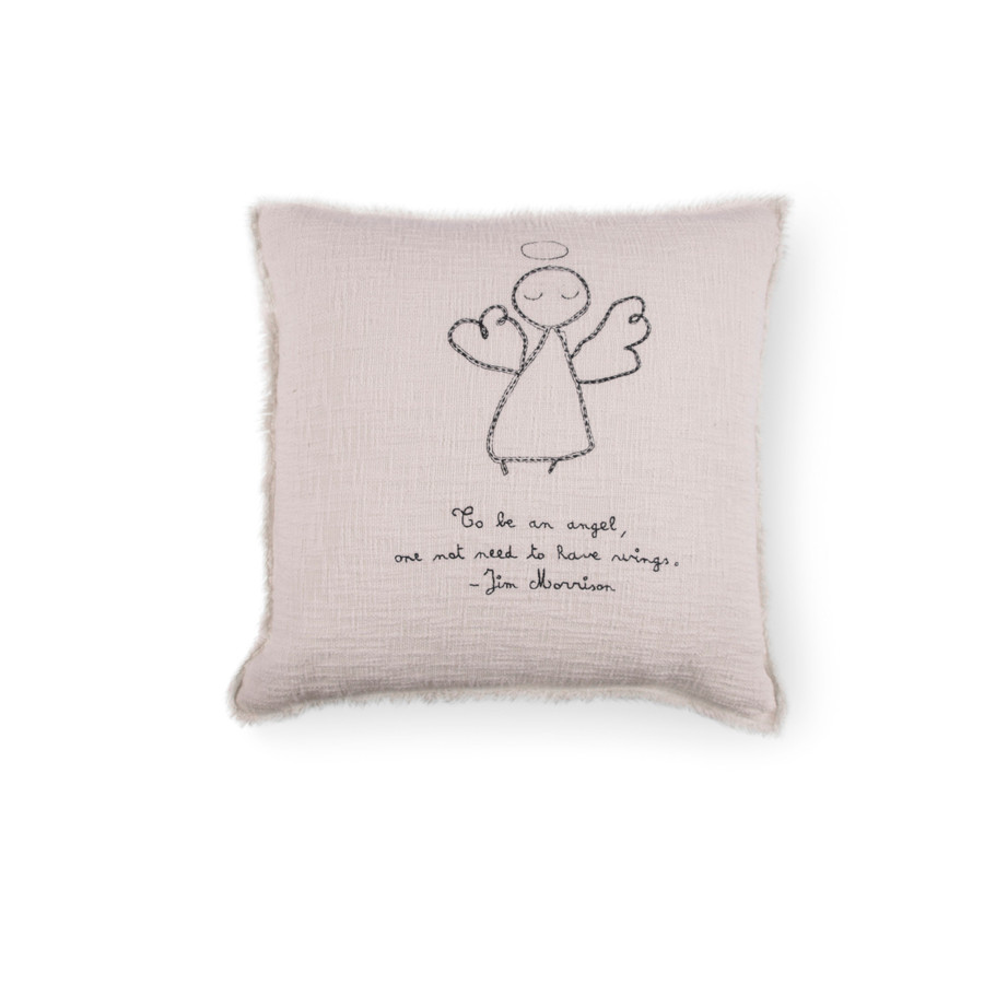 To Be An Angel - Jim Morrison Pillow
