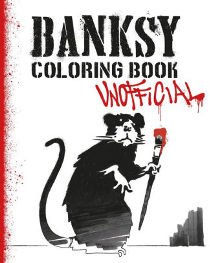 Banksy Coloring Book
