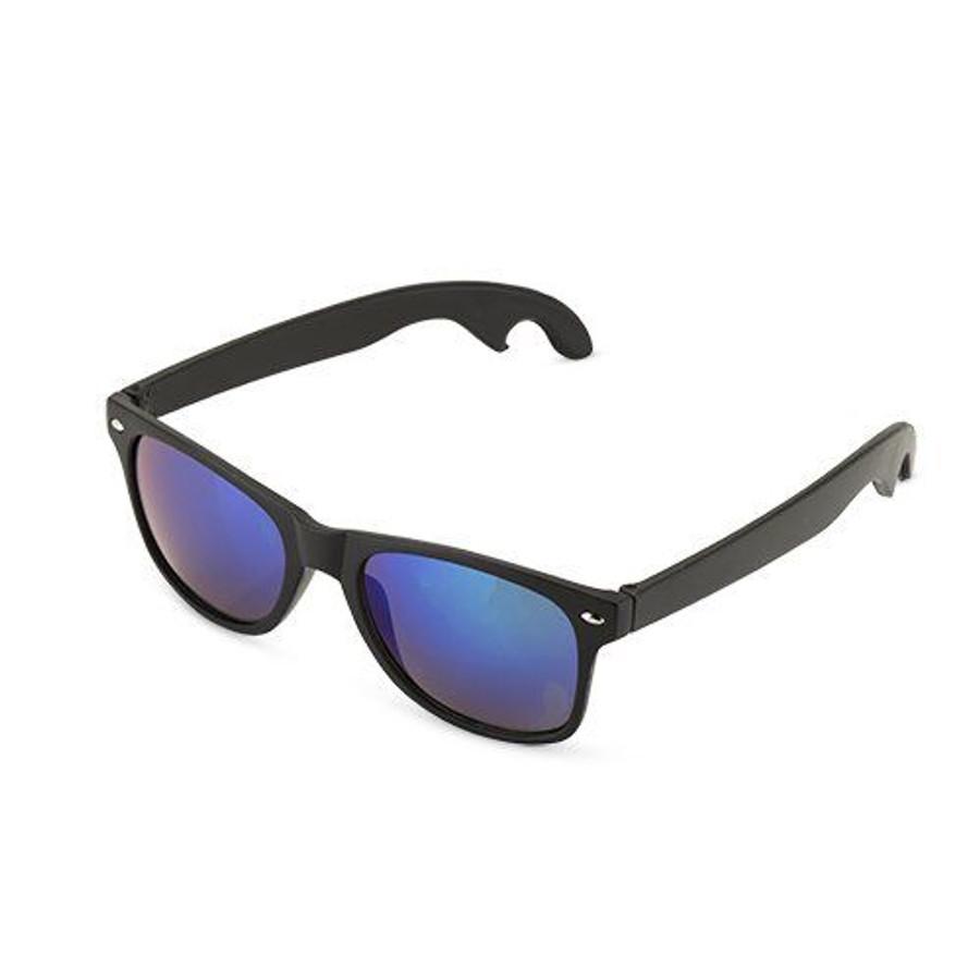 Matte Black Bottle Opener Sunglasses