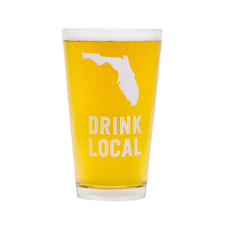 Florida Beer Pint Glass