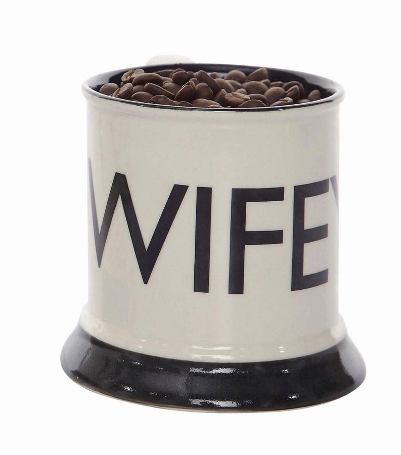 """Wifey"" Stoneware Mug"