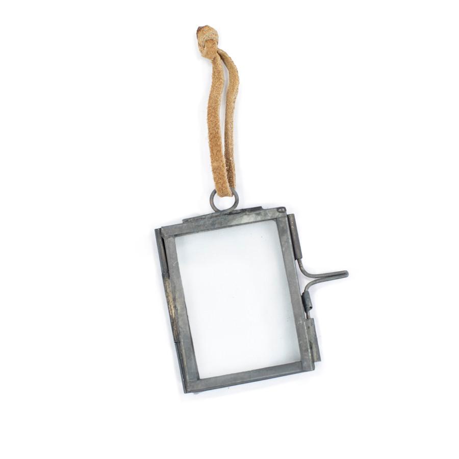Mini Ornament Frame with Zinc Finish
