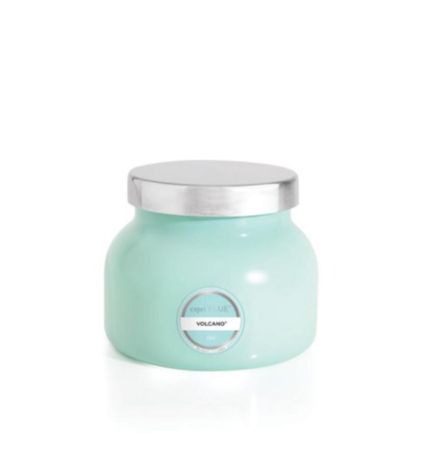 8 oz. Volcano Aqua Petite Signature Jar