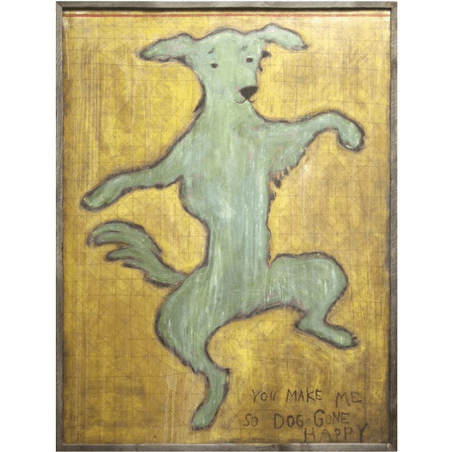 Dancing Dog art print