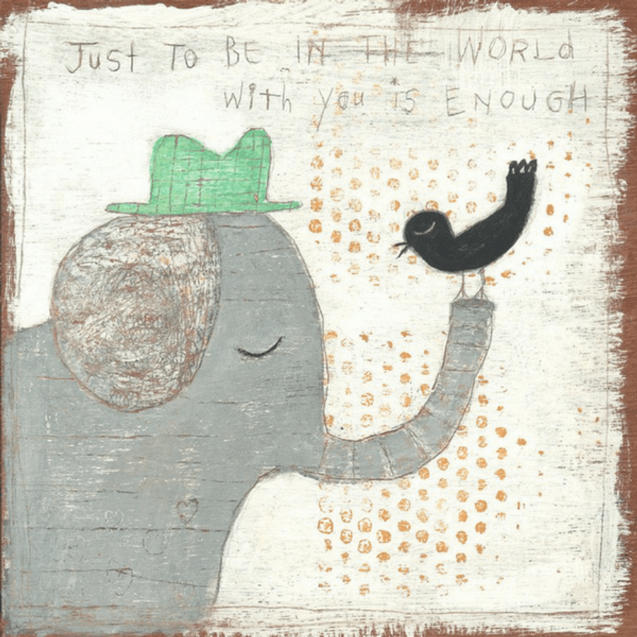 In The World With You art print
