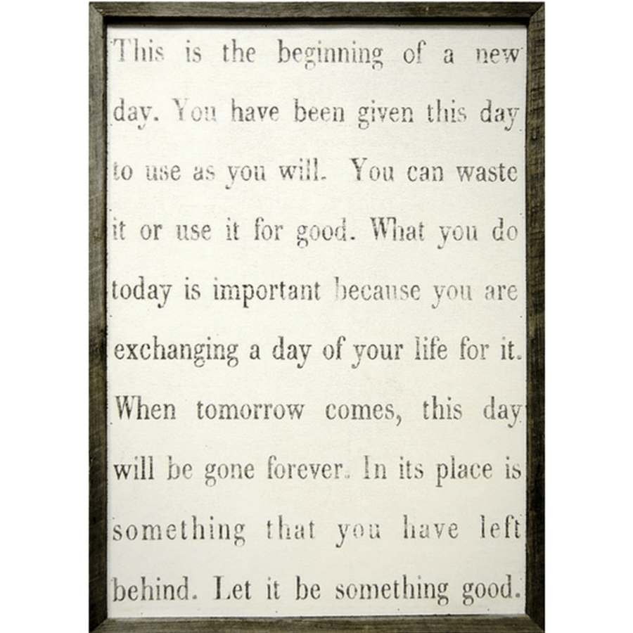 This Is The Beginning art print