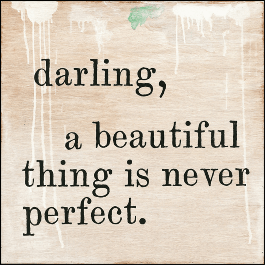 Darling, A Beautiful Thing art print