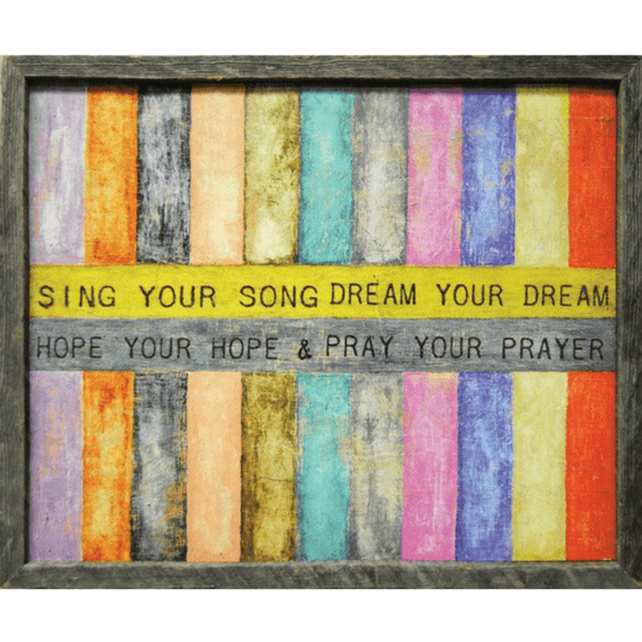 Sing Your Song*