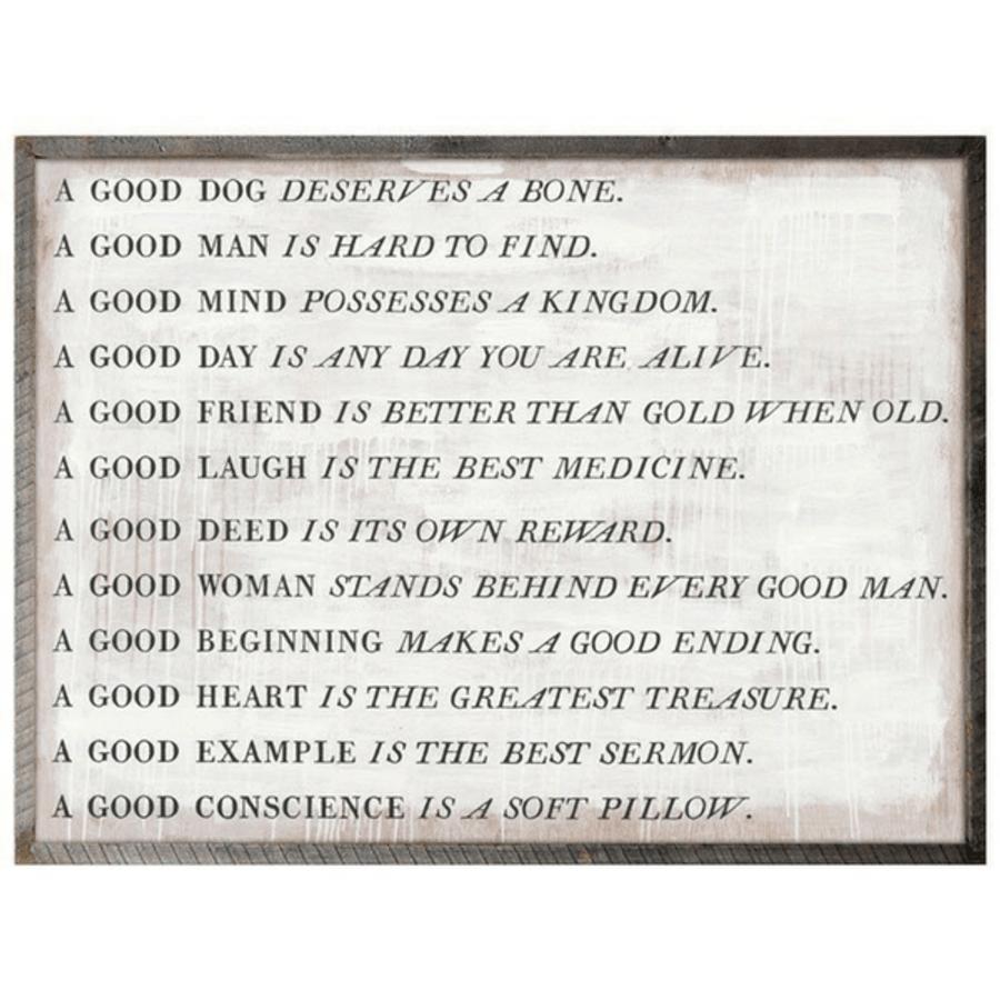 a good proverb art print
