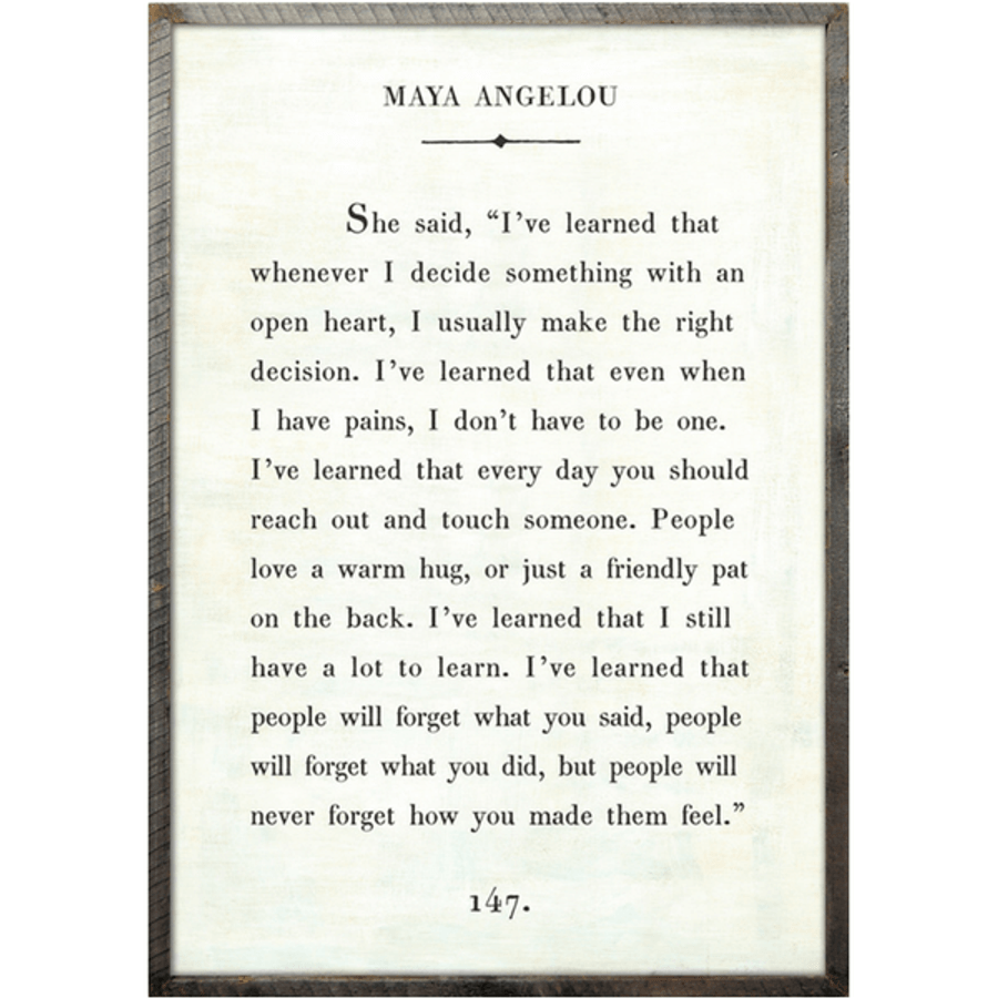 Maya Angelou - Book Collection