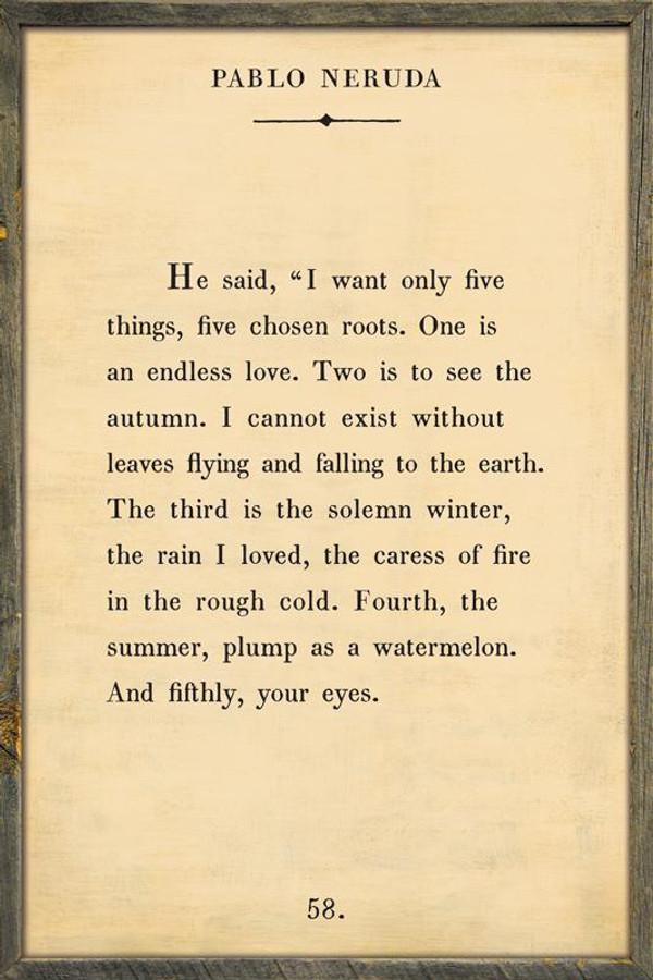 Pablo Neruda - Book Collection