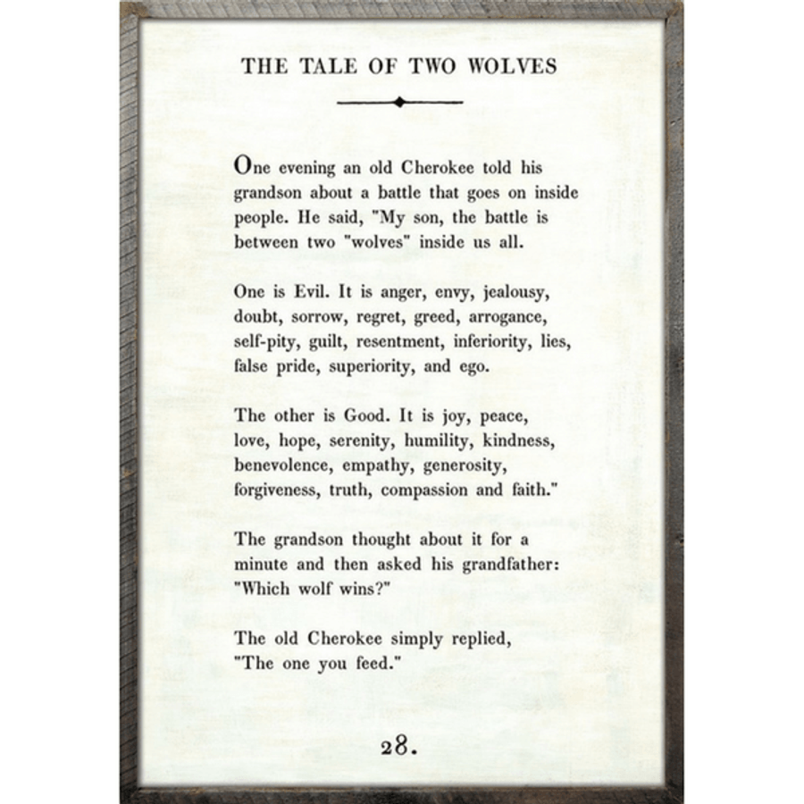 The Tale of Two Wolves - Book Collection