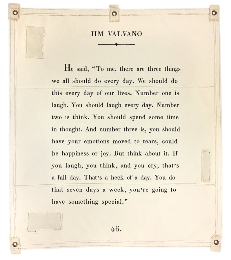 jim valvano canvas wall tarp