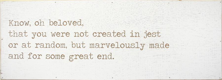 know of beloved engraved love letter