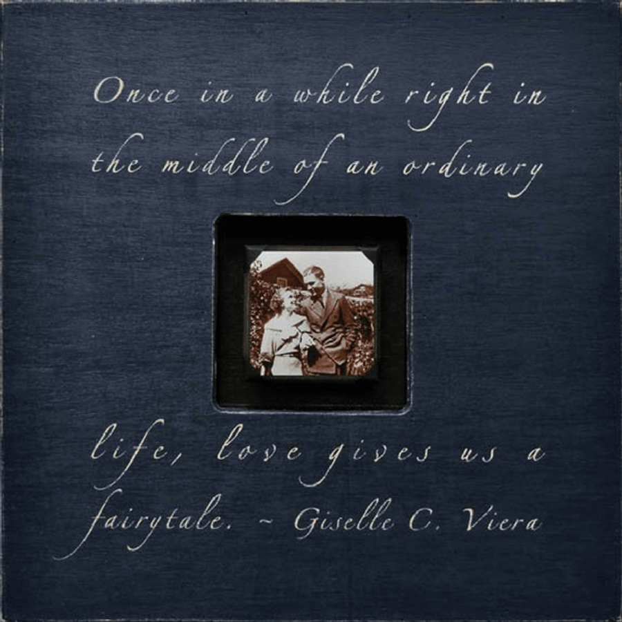 once in a while - photo box
